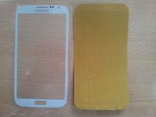 Cristal de Pantalla Tactil Blanca para Samsung Galaxy Note 2 N7100 + Adhesivo