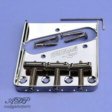 CORDIER TELE GAUCHER VINTAGE TELECASTER BRIDGE 3Threaded Saddles LEFTY +TopMount