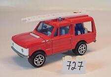 Majorette 1/60 Nr. 246 Range Rover Feuerwehr Mannschaftswagen Nr. 2 #727
