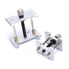 2pcs Watch Case Metal Movement Holder Watchmaker Clamp Repair Tool  FBCA