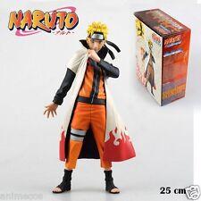 "Naruto Shippuden Uzumaki 25cm/10"" PVC Figure Collection Gift Toy Gift New in Box"