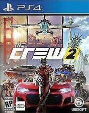 NEW! THE CREW 2 (Sony Playstation 4, 2018 PS4) SEALED!!! FAST FREE SHIPPING!!!