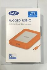 LaCie 2TB Rugged USB, Thunderbolt 3 Compatibility.Shock,Drop and Crush Resistant