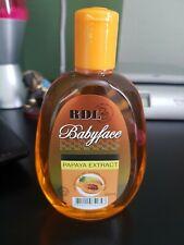 Rdl babyface facial cleanser papaya extract 250ml