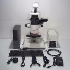 LEICA M165FC STEREO ZOOM FLUORESCENCE MICROSCOPE W/ DFC310FX DIGITAL CAMERA & PC