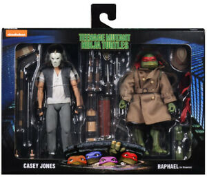 "Teenage Mutant Ninja Turtles 7"" Figure Movie - Casey Jones & Raphael Disguise"