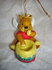 Grolier Disney Ornament Winnie The Pooh As An Angel Christmas Decoration MIB
