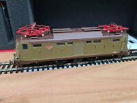 Locomotore E424.010 FS Castano Isabella Breda - HO 1:87 Rivarossi HR2727
