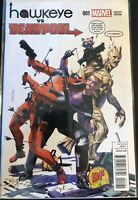 Hawkeye vs Deadpool #1 DF Dynamic Forces Mayhew Variant W/ COA Marvel NM