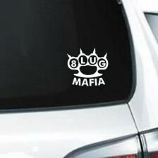 B211 8 lug Mafia big truck  vinyl decal car truck van suv