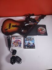 Lot of Guitar Hero / Rock Band Parts for PS3 Untested, Games, Microphone [AC04]