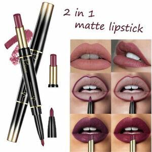 Pudaier Moisturizer Matte Nude Liquid Lipstick Metal Color Lip Sensational UK