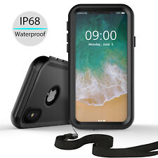 For iPhone X Waterproof Case Underwater Hard Armor Case Cover with Sound Speaker