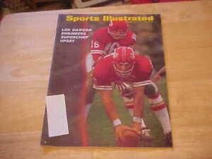 Len Dawson Engineers Superchief Upset    Jan. 19, 1970 Sports Illustrated
