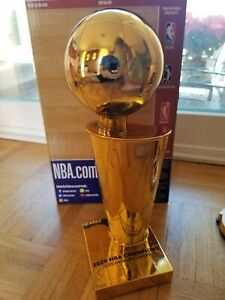 2020 LAKERS CHAMPIONSHIP REPLICA TROPHY LARGE 12 INCH FOCO NBA LEBRON JAMES