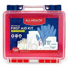 All Health First Aid Kit 100 Pieces Multi-colored