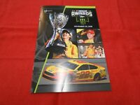 2018 MONSTER ENERGY NASCAR CUP AWARDS BANQUET PROGRAM!! JOEY LOGANO CHAMPION!!