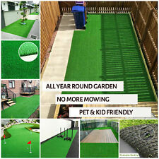 Artificial Grass |  Astro Turf | Cheap Realistic Grass | 1m 2m 4m Widths