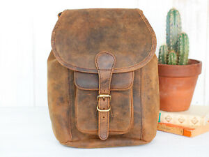 Scaramanga Small Leather Backpack