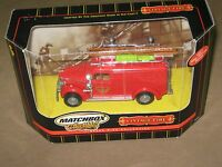 ~NEW~MATCHBOX~1937 GMC RESCUE SQUAD~VINTAGE FIRE COLLECTION   2000