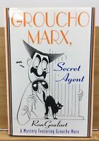 GROUCHO MARX, SECRET AGENT ~ RARE, SIGNED WITH COLOR ILLUSTRATION BY RON GOULART
