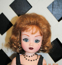 Monique Doll wig Mabel size 8-9 Medium Auburn