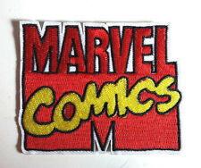 "MARVEL COMICS Die Cut Logo  3.5"" Wide Embroidered Patch- FREE S&H  (MCPA-24)"