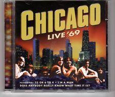 (HG587) Peter Cetera, Chicago Live '69, 7 tracks - 1999 CD