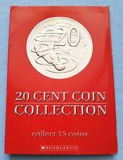 COIN FOLDER FOR AUSTRALIA 20 CENT PIECES