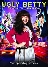 Ugly Betty - Season 3 [DVD] America Ferrera, Eric Mabius Brand New UK R2 DVD
