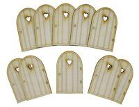 Wooden Fairy Doors Party Pack Heart Fairy Doors Fairy Garden Doors Party Bag Set