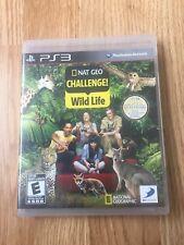 Nat Geo Challenge Wild Life PlayStation 3 Cib Game XP2