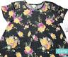 LuLaRoe Carly Dress, Rare Floral, Super Soft Sweater Knit, Major Unicorn, Size M