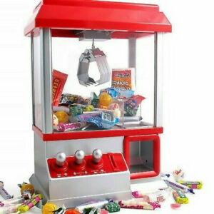 CANDY GRABBER TOY CLAW MACHINE GAME KIDS FUN SWEET FAMILY PARTY GIFT GRAB ARCADE