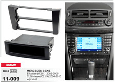 CARAV 11-009 1Din Marco Adaptador Kit de Radio para MERCEDES E (W211) CLS (C219)