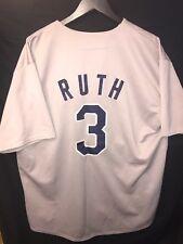 MLB Mitchell & Ness New York Yankees Jersey Babe Ruth #3 Men Size XL
