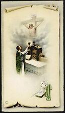 "santino-holy card""""ediz. NB serie P.2527 SACRIFICIO DELLA S.MESSA"