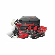 Milwaukee 18 Volt & 12 Volt Variable Speed Polisher Twin Pack