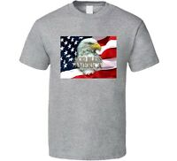 God Bless America Patriotic American Pride USA Flag Novelty Unisex T Shirt New