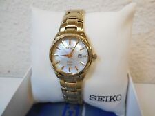 Seiko SUT180 Women's Analog Display Japanese Quartz Gold Tone Watch Like New**