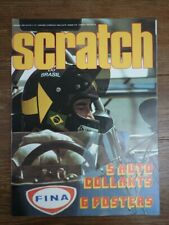 Revue Automobile F1 SCRATCH No 4 MAI 1973 COMPLETE AVEC SES 5 STICKERS
