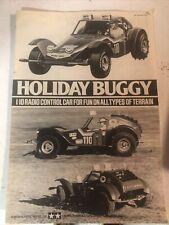 tamiya holiday buggy Assembly Manual
