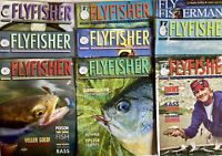 Fly Fisherman Lot Of 9 Fishing Magazines 2010 - 2016 Mix Advertising Angler Lure