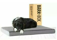 BarkBox Memory Foam Dog Bed for Orthopedic Joint Relief- Large