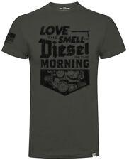Diesel Power Gear Smell of Diesel Official Diesel Sellerz Grey Mens T-Shirt