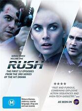 Rush : Series 3 : Vol 1 (DVD, 2010, 3-Disc Set)  (Region 4)