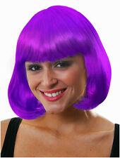 NEW AND SEALED PURPLE WIG, HALLOWEEN, FANCY DRESS PARTY, FUN