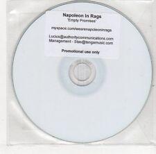 (EJ154) Napoleon In Rags, Empty Promises - 2011 DJ CD