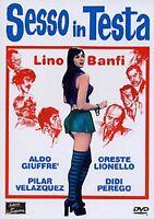 DVD SEXY SESSO IN TESTA DIDI PEREGO GIUFFRE' BANFI LIONELLO 1974 SIGILLATO