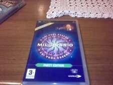 STOCK PEZZI 1 PLAYSTATION GIOCO  PSP  CHI VUOL ESSERE  MILIONARIO PARTY EDITION